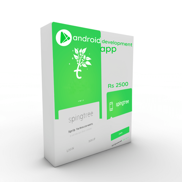 ecommerce android app,Android app,Get an Android App just Rs 2500 for your business,Spingtree